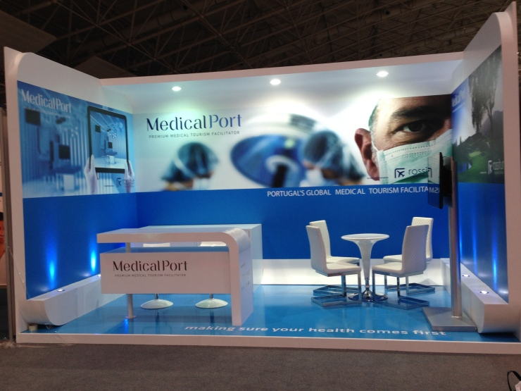 Medical Port's booth at SMT 2014