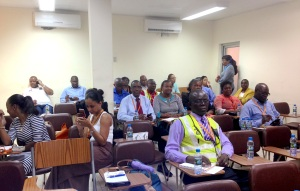 TAAG employees at Medical Port's presentation
