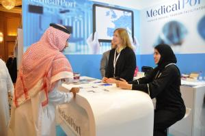 Medical Port at Riyadh Travel Fair 2015